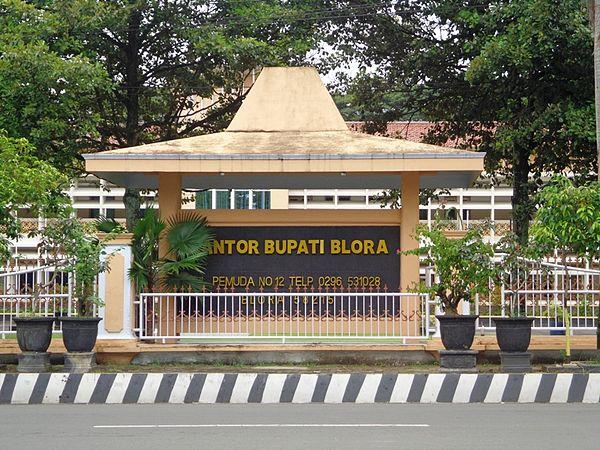Kabupaten Blora Wikiwand Kantor Bupati Disebut Sebagai Pemda Setda Taman