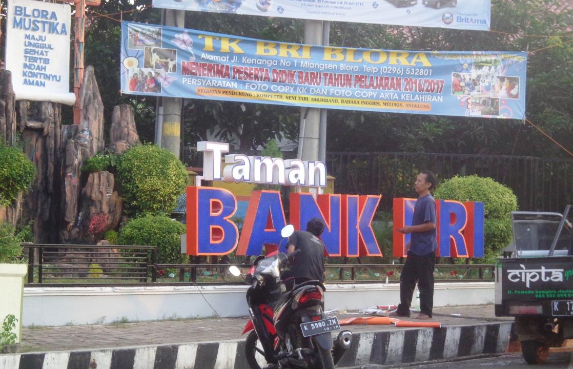 Kelola Taman Kota Pemkab Blora Gandeng Kalangan Perbankan Bank Bri