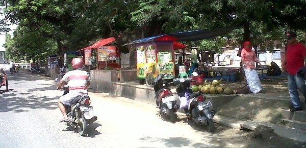 Pkl Dilarang Tempati Taman Seribu Lampu Media Informasi Kab Blora