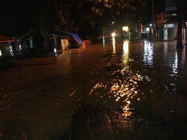 Warga Kecamatan Cepu Cemaskan Banjir Dadakan Setiap Turun Hujan Taman