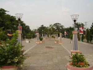 Wisata Taman Seribu Lampu Cepu Blora Jawa Tengah Bagi Warga
