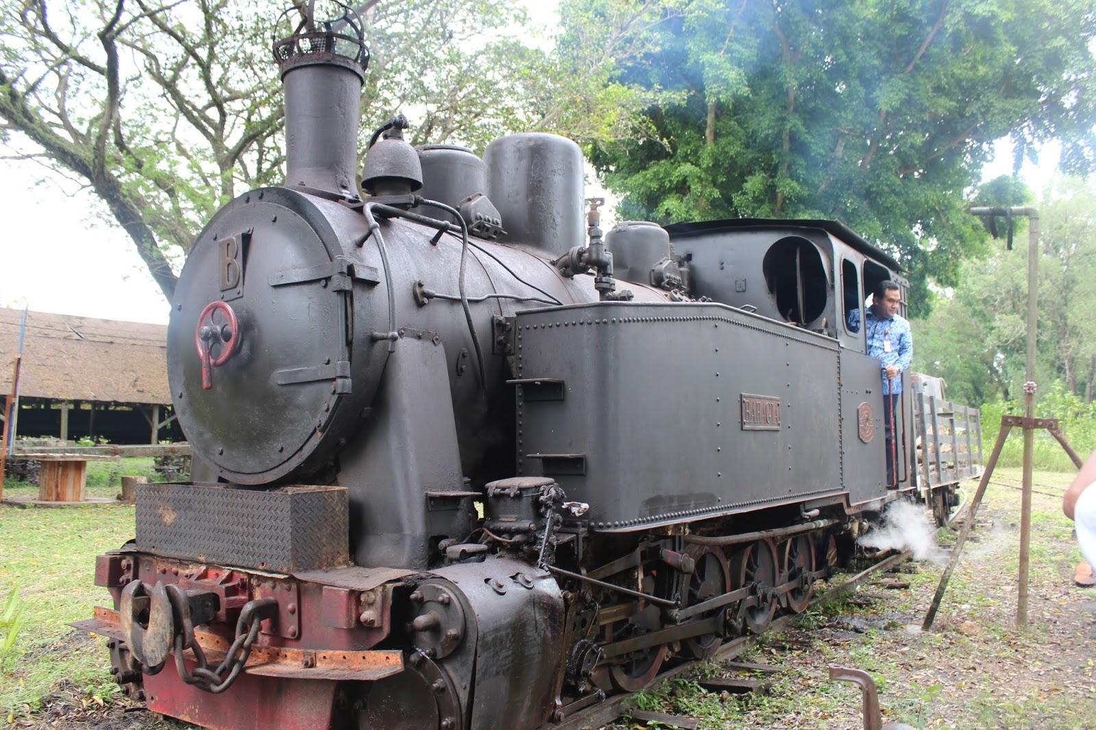 Dilaunching Heritage Loko Tour Kereta Uap Jadi Ikon Wisata Wakil