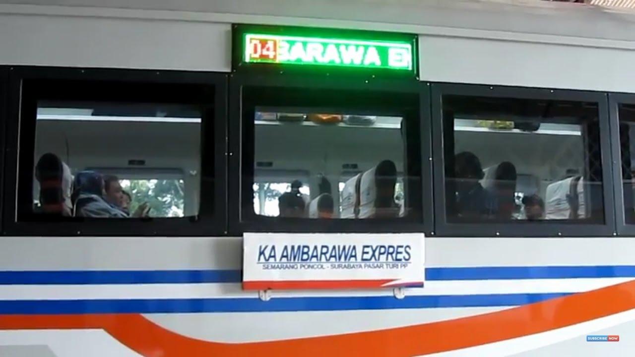 Ka Ekonomi Ambarawa Express Stasiun Cepu Randublatung Part 1 2