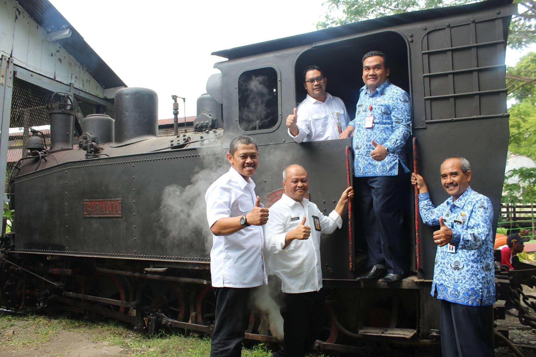 Launching Wisata Heritage Loko Tour Kph Cepu Oleh Wakil Bupati