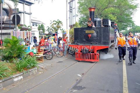 Sepur Kluthuk Jaladara Nostalgia Naik Kereta Api Uap Kota Solo