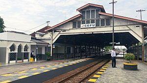Stasiun Cepu Wikipedia Bahasa Indonesia Ensiklopedia Bebas Jpg Wisata Kereta