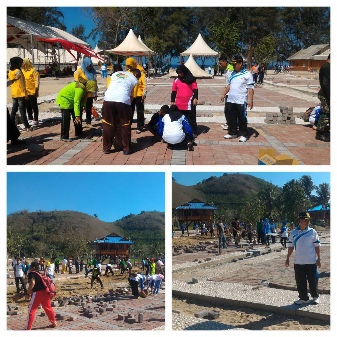 Gorontalo Kemenag Boalemo Humas Festival Rangkaian Acara Sail Tomini 2015
