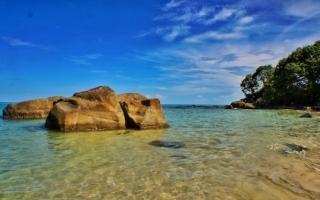 Objek Wisata Pantai Bolihutuo Gorontalo Ayhee Inet Kab Boalemo