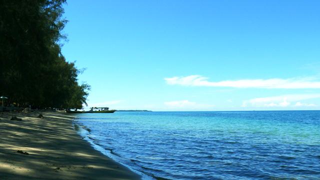 Pantai Bolihutuo Gorontalo Padang Air Siang Hari Minggu 14 4