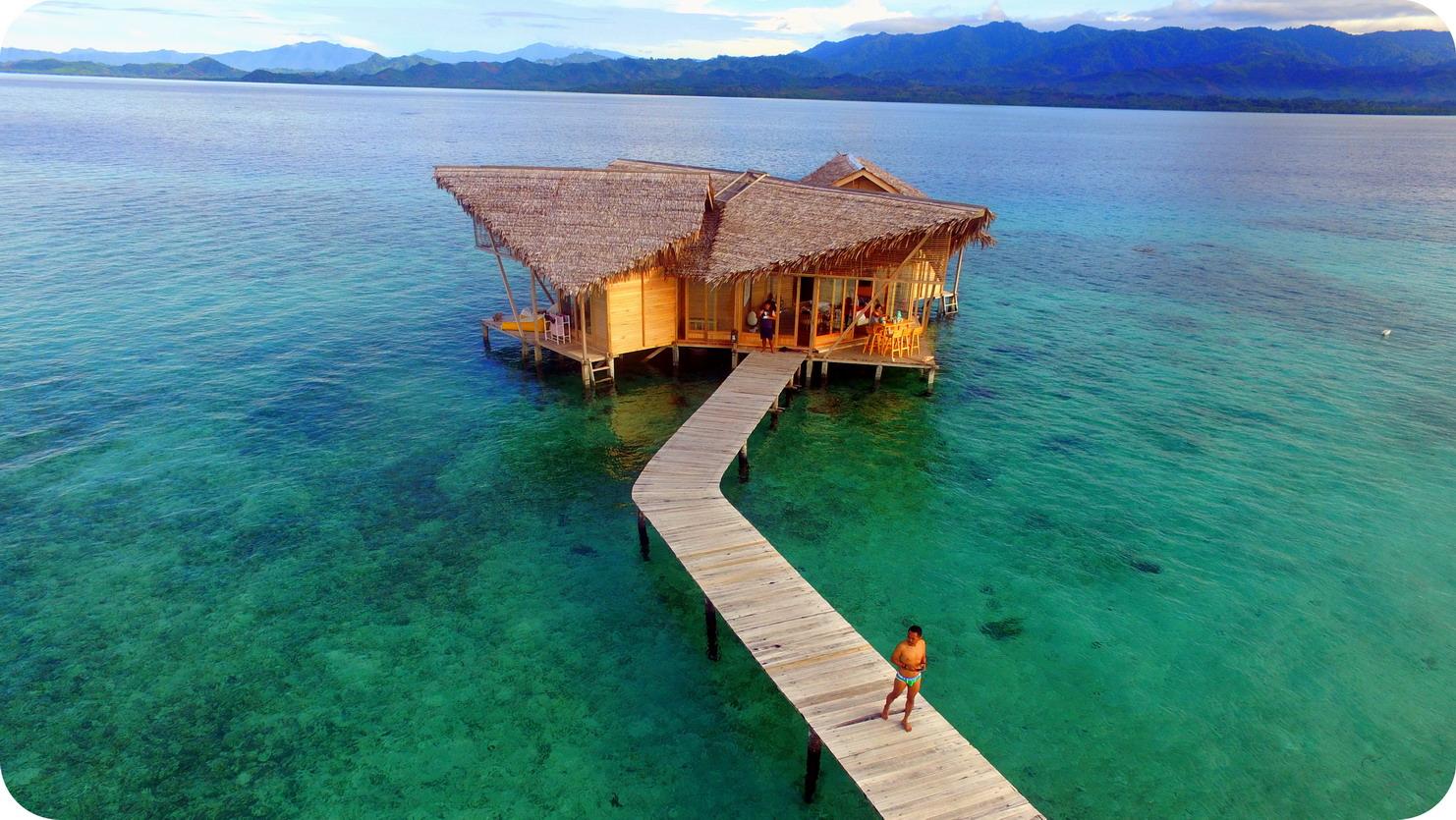 Perjalanan Tak Berujung Cinta Pulo Berada Ditengah Laut Berjarak Sekitar