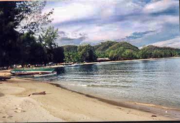 Wisataku Pantai Bolihutuo Terdapat Kecamatan Tilamuta Kabupaten Boalemo Kab