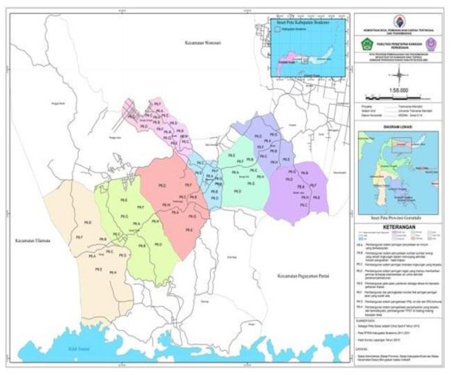 Kab Boalemo Kabupaten Dinamakan Kawasan Perdesaan Pengembangan Kakao Mencakup 10