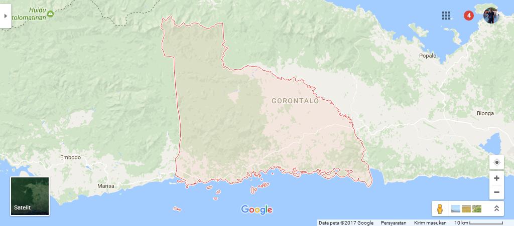 Kode Pos Kecamatan Paguyaman Pantai Kabupaten Boalemo Mananggu Kab