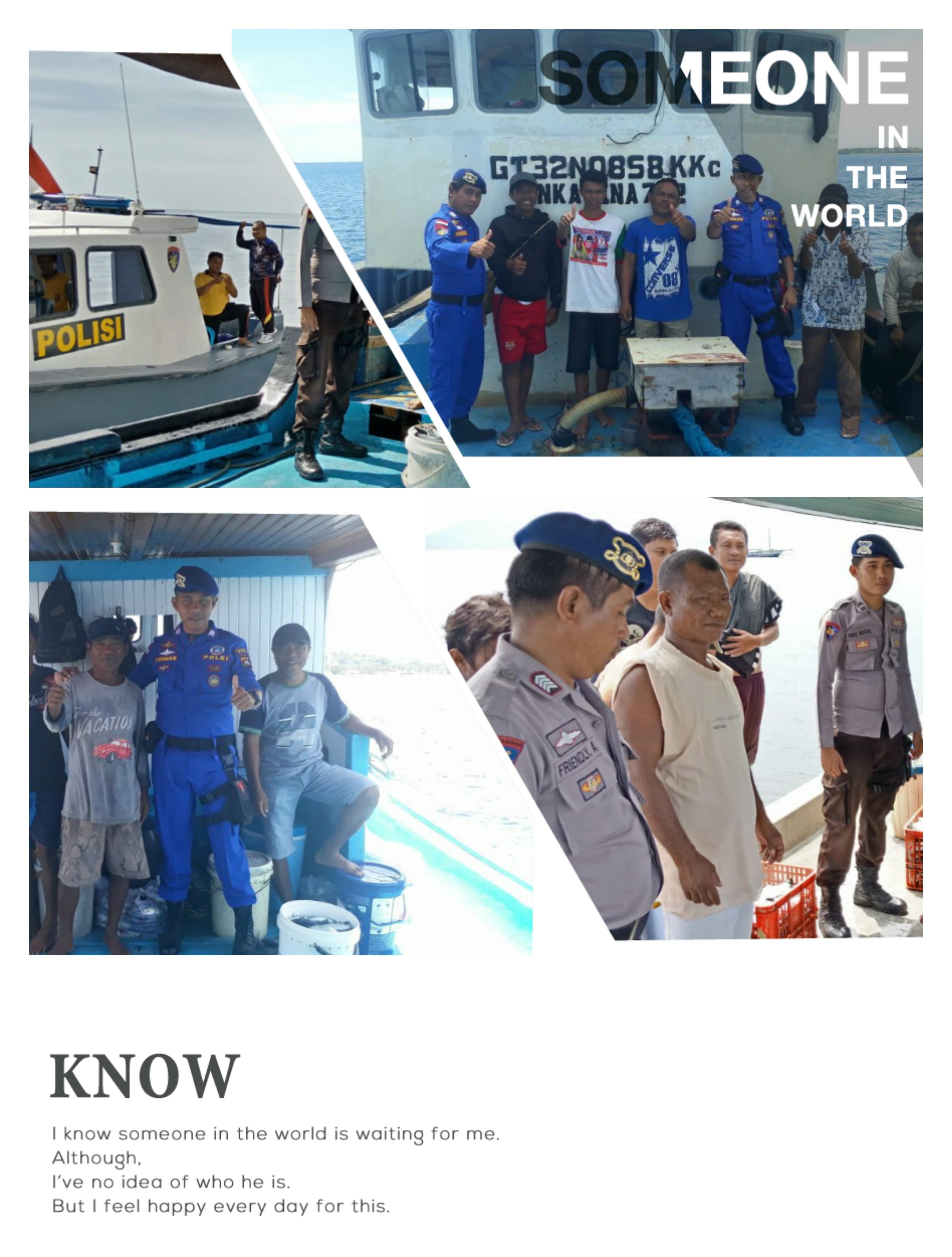 Rangka Menjaga Stabilitas Keamanan Perairan Laut Tilamuta Sat Polair Polres