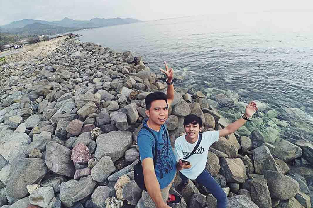 Tempat Wisata Gorontalo Terbaru 2018 Indah Pantai Kurenai Mananggu Kab