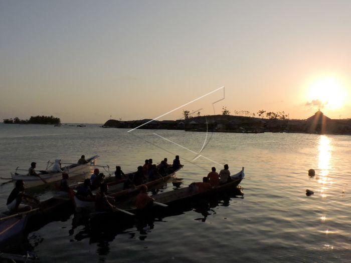 Desa Wisata Suku Bajo Boalemo Antara Foto Nelayan Bersiap Melaut