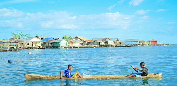 Potret Kehidupan Masyarakat Bajo Nugie Humas Suku Wisata Desa Kab