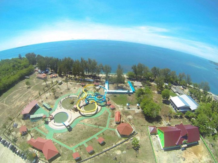 Waterpark Terbesar Gorontalo Hadir Bolihutuo Degorontalo Berada Desa Kecamatan Botumoito