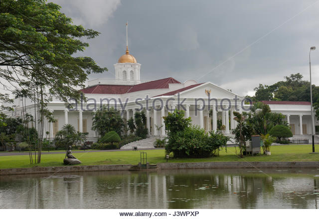 Bogor Stock Photos Images Alamy Indonesia Istana Presidential Palace Image