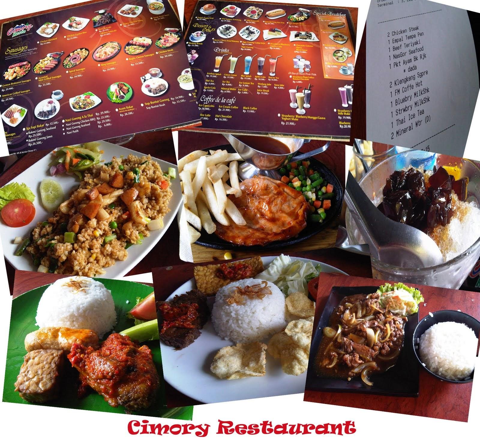 Cimory Riverside Resto Cipayung Limalang Puncak Bogor Restaurant Courtesy Keluarga