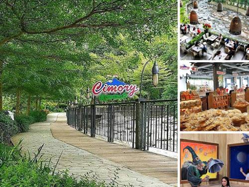 Cimory Riverside Sentra Kuliner Wisata Keluarga Favorit Terletak Pinggir Jalan