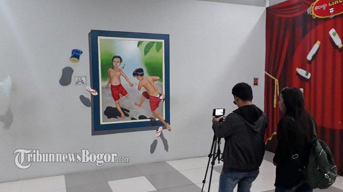 Museum 3d Terbesar Puncak Bogor Puas Puasin Foto Berlatar Gambar
