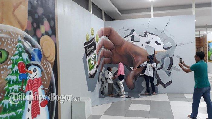 Museum 3d Terbesar Puncak Bogor Puas Puasin Foto Cimory Riverside