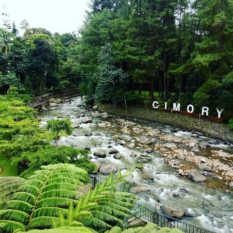 Selow Banget Spot Nyantai Bogor Pas Buat Liburan Cimory Riverside