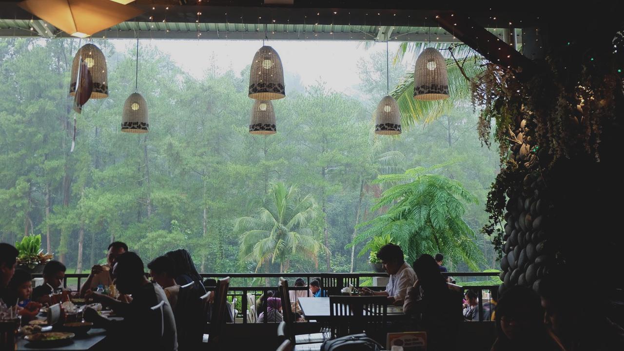 Wisata Seni Budaya Kabupaten Bogor Ciliwung Asri Cimory Riverside Kab