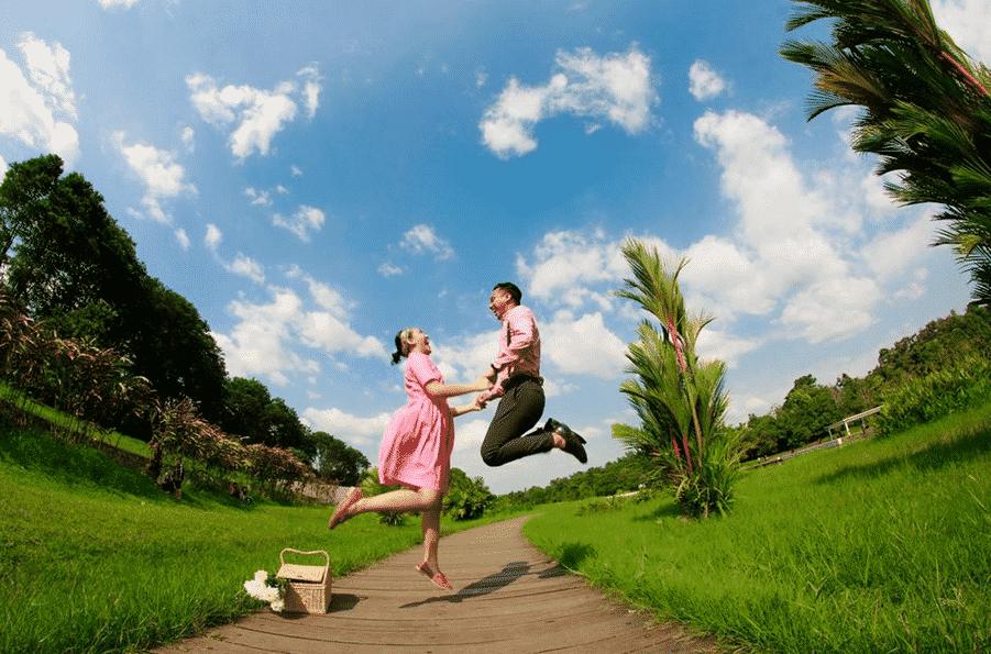6 Lokasi Prewedding Ngehits Bogor Beepdo Tempat Wisata Danau Dora