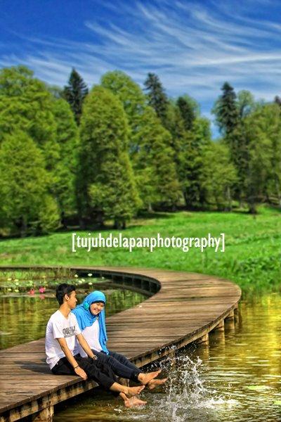 Coretan Adinda 2012 Prewedding Bakosurtanal Danau Dora Lokasinya Kira Gaya