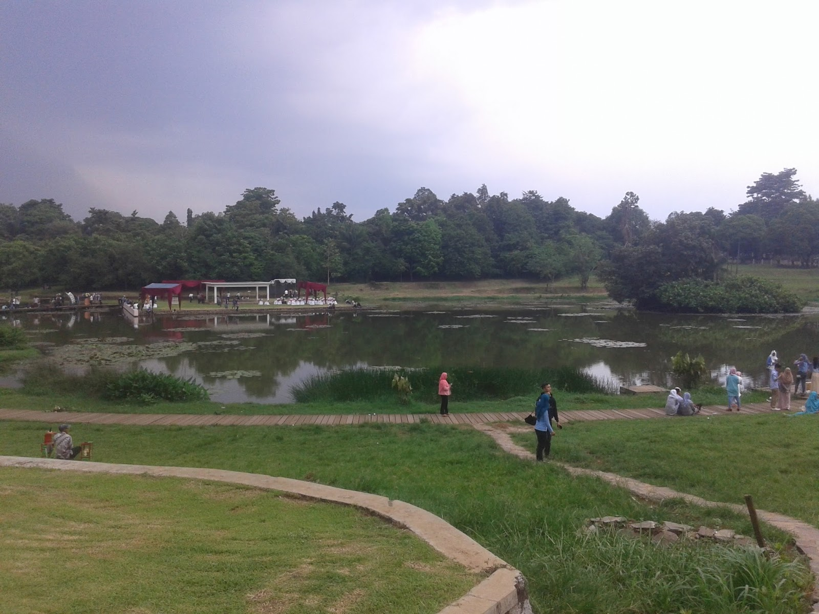 Danau Dora Lipi Cibinong Juma Travelist Foto Tentang Kab Bogor
