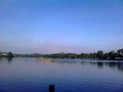 Perlombaan Perahu Kayak Danau Dora Kabupaten Bogor Juni 2013 Youtube