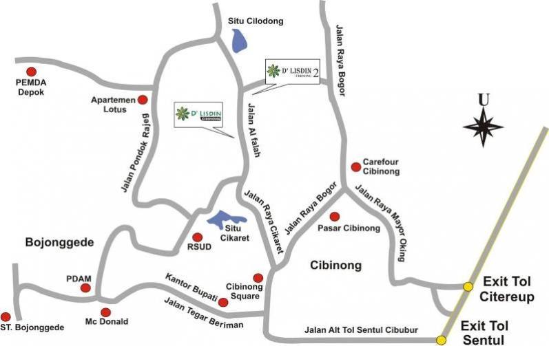 Rumah Dijual Jl Alfalah Cikaret Ready Stock Free Ajb Bphtb