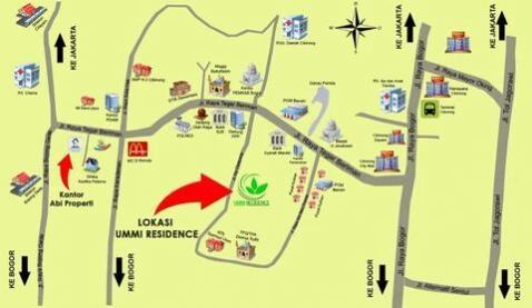 Syariah Ummi Residence Cibinong Bogor Perumahan Danau Dora Kab