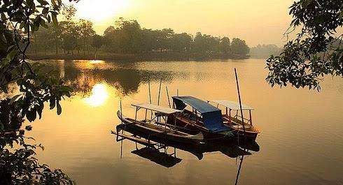 Tempat Wisata Cibinong Sekitarnya Online Ecology Park Danau Dora Kab