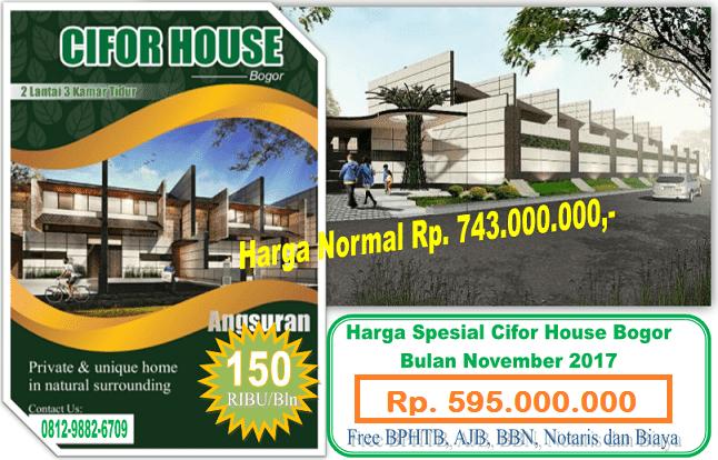 Cifor House Bogor Rumah Hutan Kab