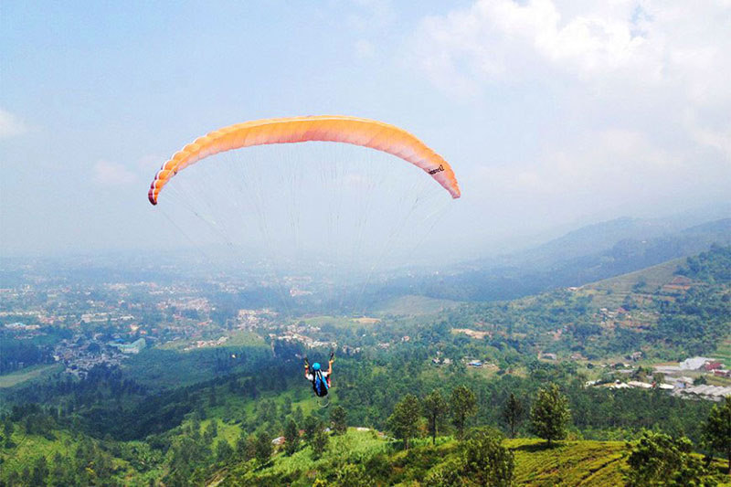 33 Extraordinary Bogor Puncak Knew Existed 15 Paragliding Bintang Mahacakrie