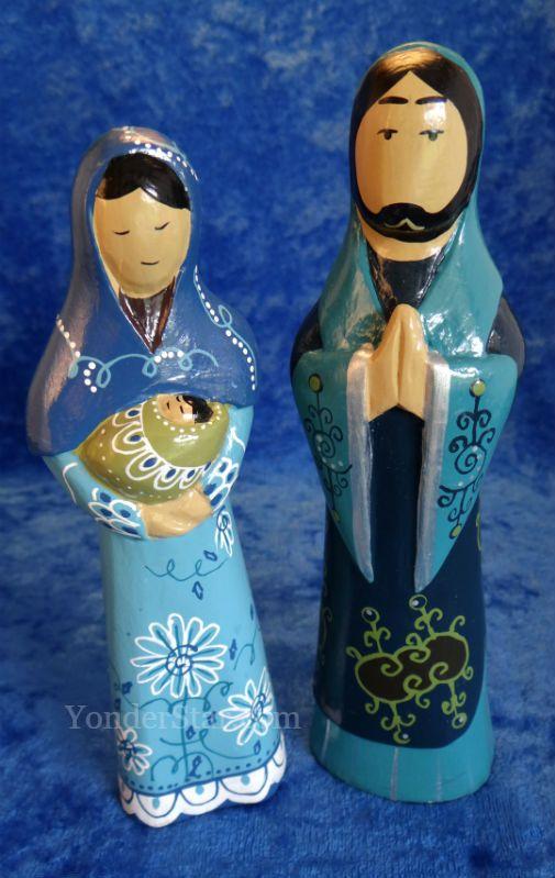 66 Indonesia Images Pinterest Bogor Viajes Heavenly Blue Nativity Set