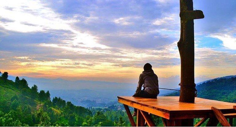 Daftar Tempat Wisata Bogor Kekinian Hits Fly Indonesia Paragliding Kab