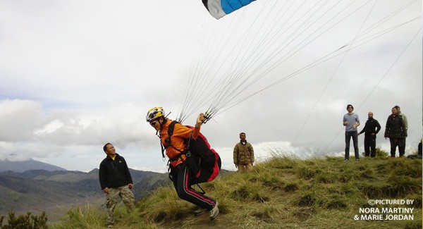 Fly Indonesia Paragliding Employs Experienced Instructors Country Kab Bogor