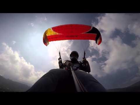 Fly Paragliding Bogor Puncak Indonesia Tandem Kab