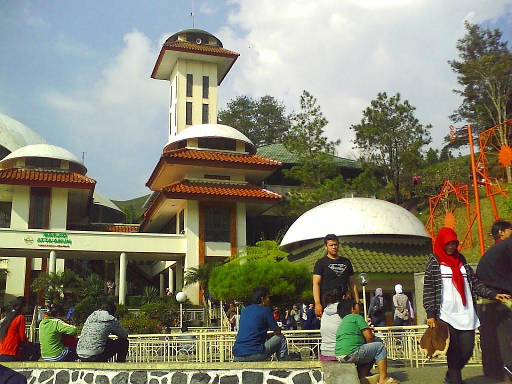Mount Puncak Gunung Mas Paragliding Map Masjid Atta Awun Bogor