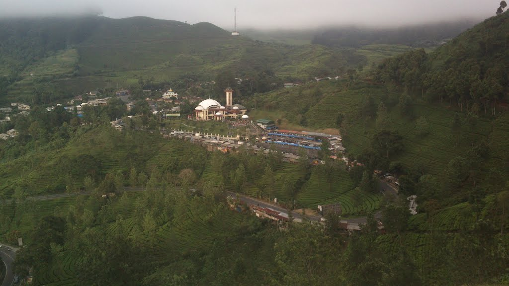 Mount Puncak Gunung Mas Paragliding Map Masjid Indonesia Fly Kab