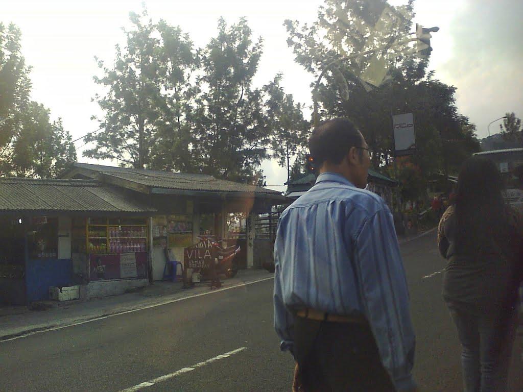 Mount Puncak Gunung Mas Paragliding Map Menghadap Jalan Bogor Mobil