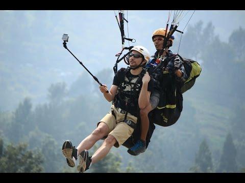 Nanik Paragliding Gunung Mas Puncak Bogor Travelerbase Flying Site Indonesia