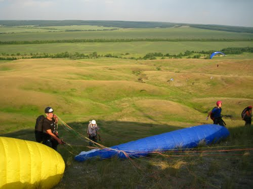 Paragliding Sites Russia Map Samara Paraglider Cup Indonesia Fly Kab