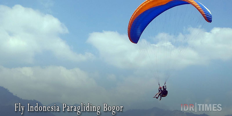 Tempat Wisata Bogor Instagramable Murah Indonesia Fly Paragliding Kab