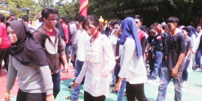 300 Zombie Jungleland Sentul Bogor Today Adventure Theme Park Kab