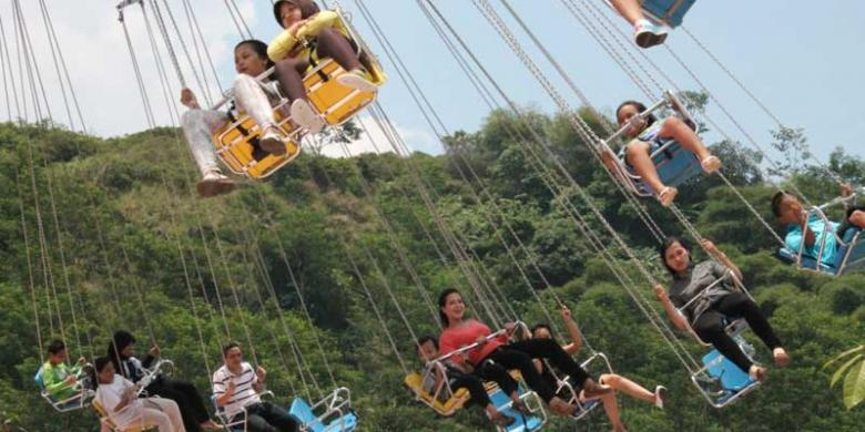 Beli 1 Gratis Tiket Jungleland Kompas Adventure Theme Park Kab